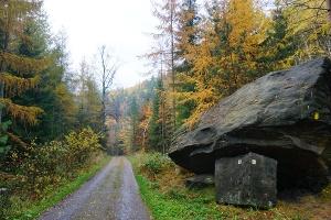 Foto Felsen im Tal der dürren Biela