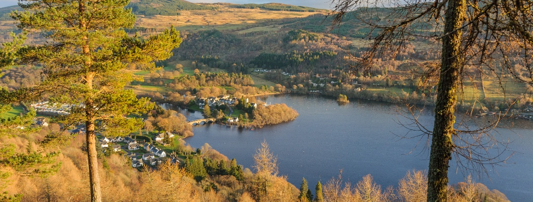 Views to Kenmore from Drummond Hill