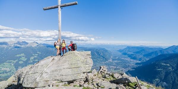 Mutspitze peak - Dorf Tirol/Tirolo