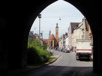 St-Jakob-Kirche in Augsburg