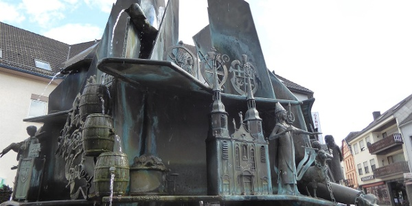 Brunnen am Teichplatz, Prüm