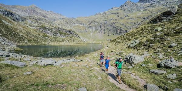 Escursione sulla malga Oberkaser