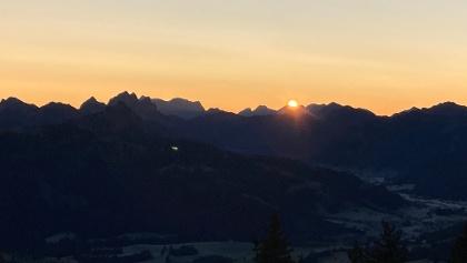 Sonnenaufgang im November