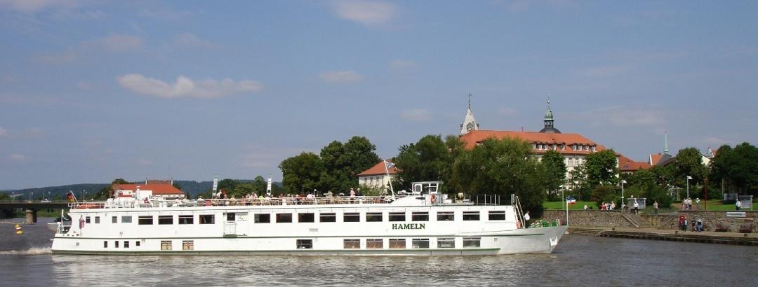 Fahrt auf der Weser