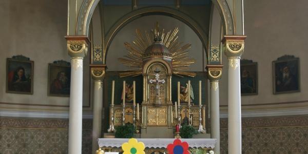 Doren, Katholische Pfarrkirche Heiliger Johannes Nepomuk 2