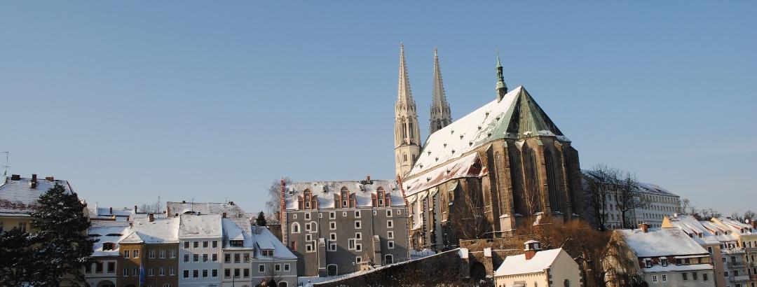 Görlitz Winter Altstadtbrücke