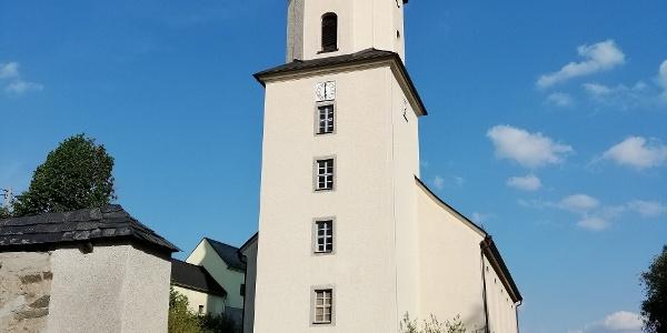 Kirche Geilsdorf im Vogtland