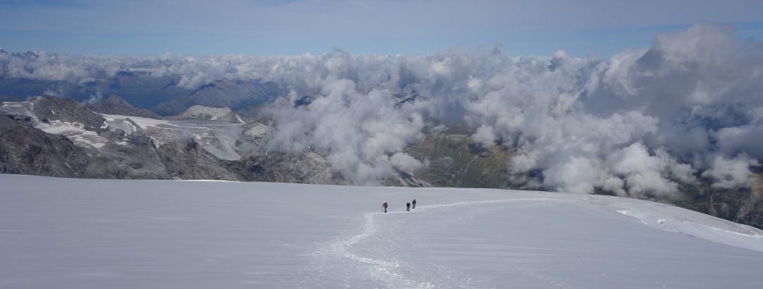Alpinismo en el Ortler