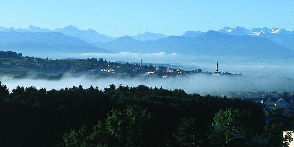 Aussichtsreiche Wanderung über den Heitersberg