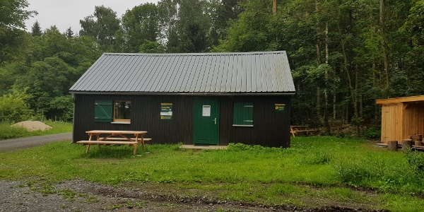 Kamphütte