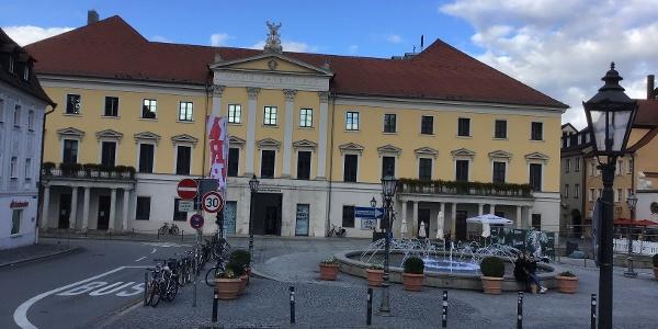 Schleifenroute - Regensburg Theater