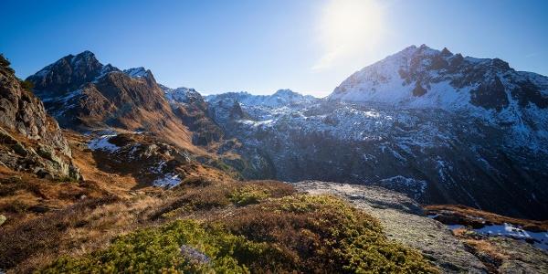 Landschaft Wanderung Breitspitze