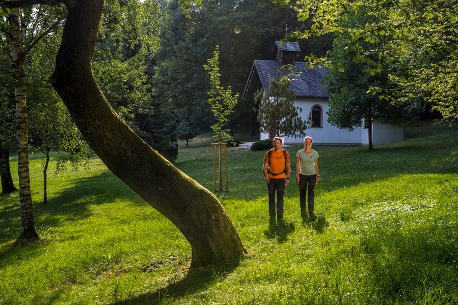 Foto: An der Kapelle
