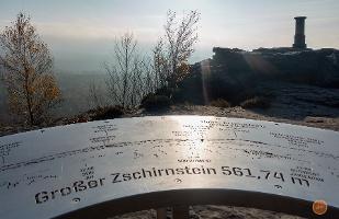 Foto Großer Zschirnstein: Der höchste Berg der Sächsischen Schweiz