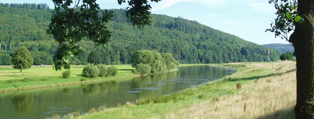 Weserbogen bei Bevern