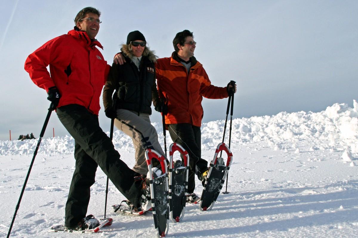 Schneeschuh-Läufer