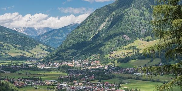 Blick von Bad Gastein nach Bad Hofgastein  (c) Gasteinertal Tourismus GmbH)