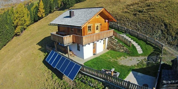 Unsere liebevoll renovierte Hütte