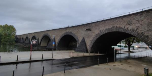 Koblenz - Balduinbrücke über die Mosel