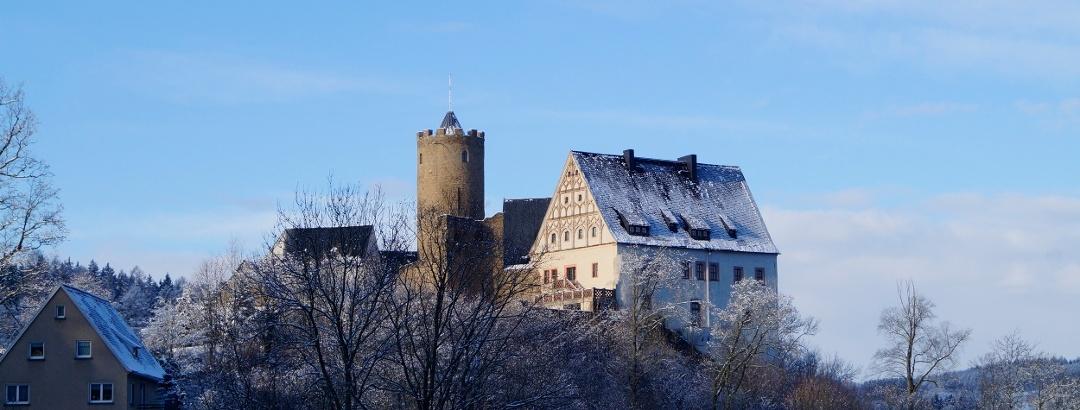 Burg Scharfenstein Winter