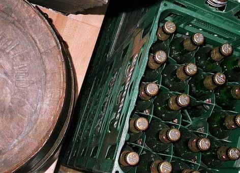 Bierausstellung im Museum