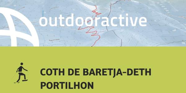 Ruta con raquetas de nieve en Pyrenees: COTH DE BARETJA-DETH PORTILHON