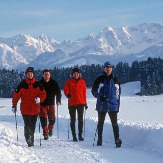 Winterwandern Attlesee