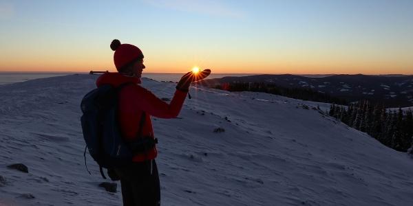 Sonnenaufgang am Wölkerkogel