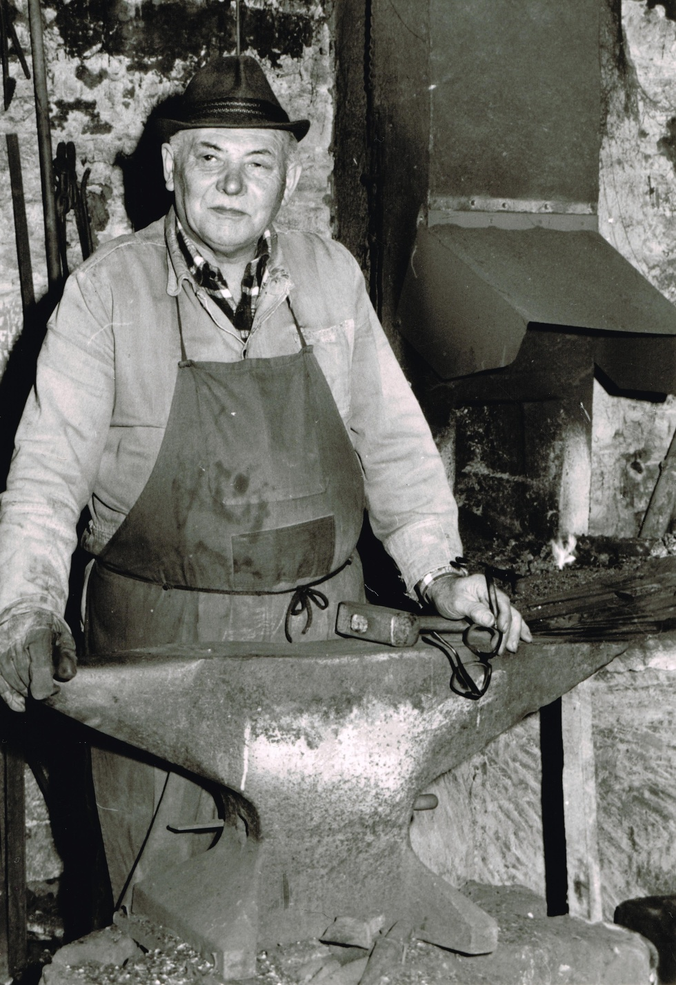 Reinhard Moser (1929 - 2015), Alte Schmiede Eppingen-Mühlbach