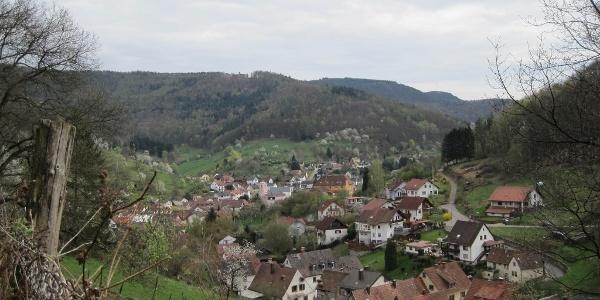 Blick auf Ramberg