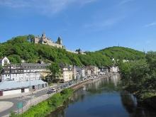 Blick auf die Burg Altena