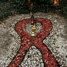 HIV-Gedenkstätte bei der Wallfahrtskirche Maria Grün