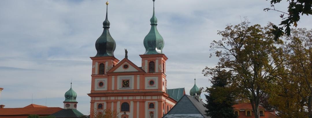 Wallfahrtskirche Maria Kulm (Chlum Svaté Maří) im Egerland