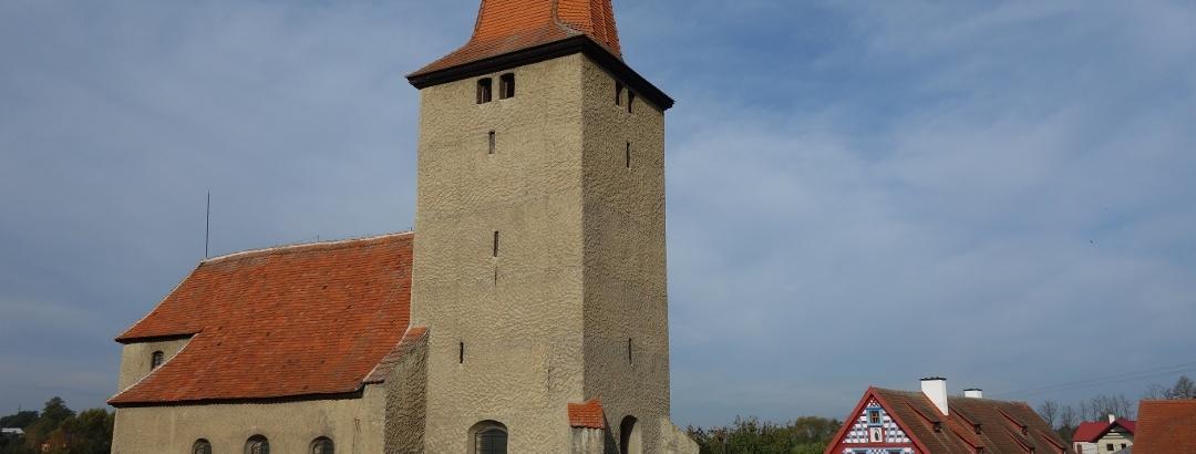 Kirche St. Nikolaus in Mühlessen Milhostov