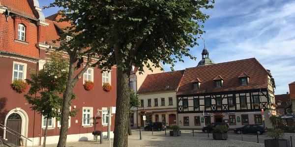 Marktplatz in Ronneburg