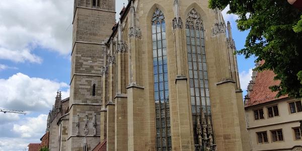 Rothenburg /T. - evangelische Stadtpfarrkirche St. Jakob