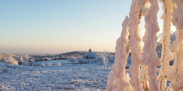 Zinnwald im Winter