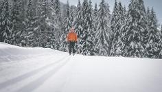 Loipe Biathlonzentrum 1B