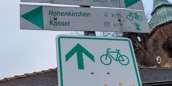 Wegweiser in Immenhausen