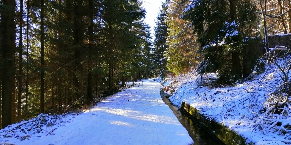 Winterwandern -Aschergraben