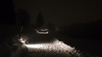 Il percorso di notte