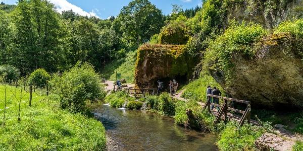 Wasserfall mit Ahbach