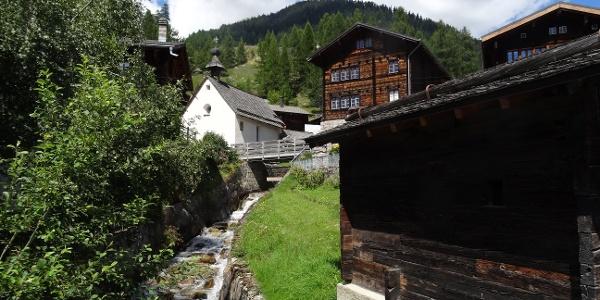 Bergdorf Selkingen mit Stockmühle