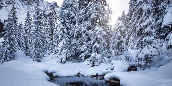 Winterlandschaft Gargellen