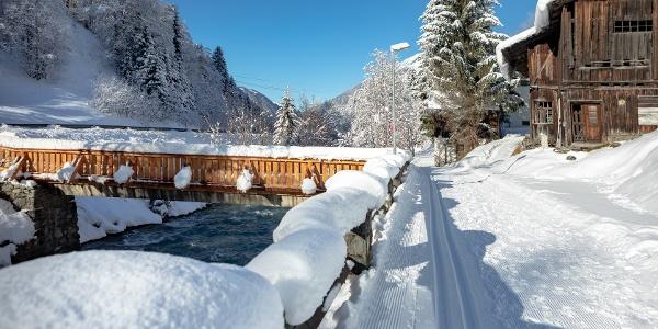 Winterlandschaft Gaschurn