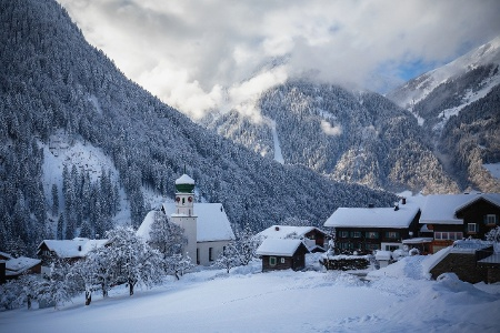 Winterlandschaft St. Gallenkirch