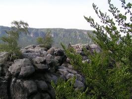 Foto Gipfelplateau des Neuen Wildensteins