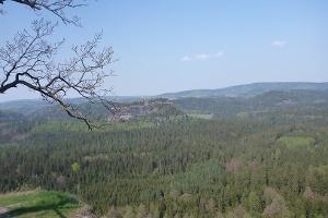 Foto Aussicht zum Neuen Wildenstein
