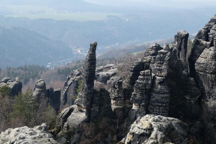 Foto Die spektakuläre Schrammsteinaussicht
