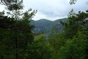 Foto Blick in die Felsenwelt